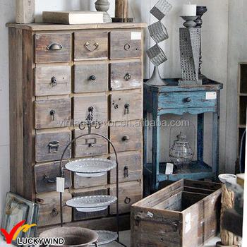 Rústico Antiguo Vintage Antiguo Recuperada Y Reciclado Muebles De ...