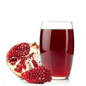 Pomegranate juice concentrate in brix:65+/-1% in drum packing