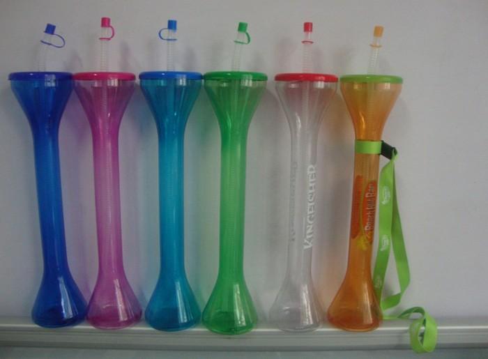oxgift funny shaped plastic straw yard cups yard drinking glasses