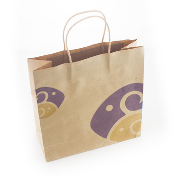 Cheap Recycled Brown Paper Bag Manufacture