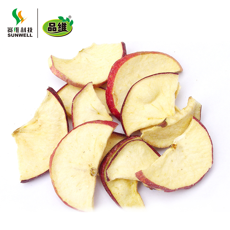 Vacuum Fried Dried Apple chips healthy snacks fruit chips