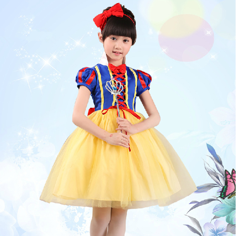 Cheap snow white dresses for girls find snow white dresses for get quotations new 2015 kids costume cosplay snow white plus size african american halloween sweet flower girls dresses mightylinksfo