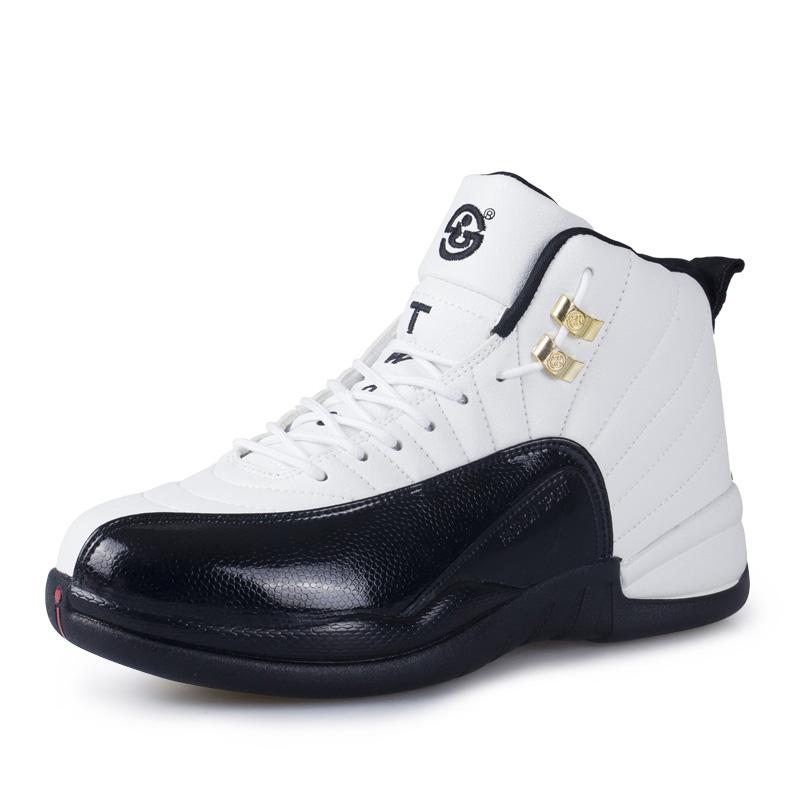 Men S Basketball Shoes Zapatillas Hombre High Top Rubber Men Sneakers
