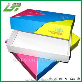 custom made printed flower big box and big paper gift box from China