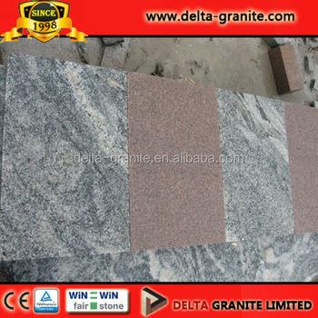 Natürliche Juparana GranitChina Juparana GehwegplattenPoliertem - Gehwegplatten granit 50x50