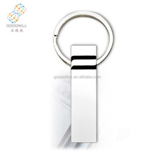 High-Speed and waterproof USB 2.0 Metal with key chain USB Flash Disk