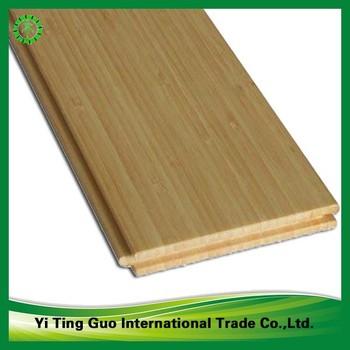 Natural Color Tongue And Groove Bamboo Flooring Horizontal