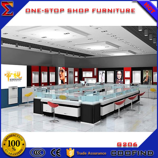 Excellent Quality lowest price Mall Eyewear display stand store