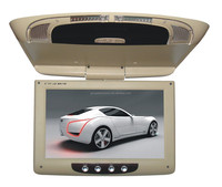 9 inch car roof mount monitor, tft lcd car roof mount dvd