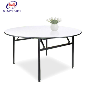 Quality good five star used round banquet table for sale