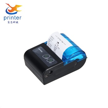 MPT-II Mini Portable Android Bluetooth Thermal Printer
