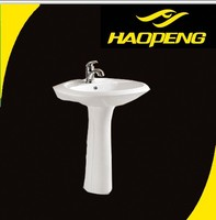 D2047A Bathroom Sanitary Portable Hand Sinks Porcelain White Basin Western Bathroom Sinks