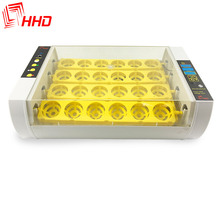 HHD hot sale mini electric 24 home egg incubator full automatic egg hatchery equipment