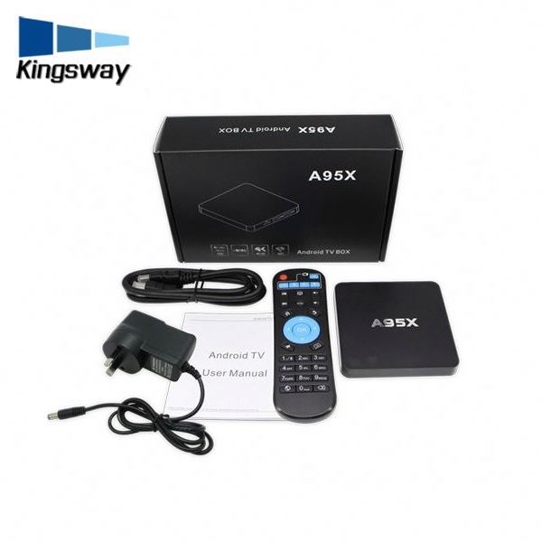 Smart A95X Digital Satellite TV Receiver Best Original 4K HD Combo Decoder S2 T2 Cheap Price Android TV Box