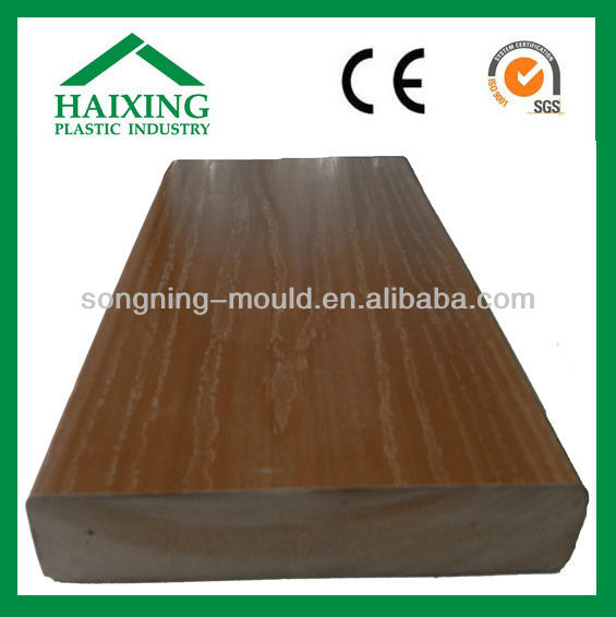 Fireproof, Waterproof Pvc Decking Board Wood Style 2013 New product