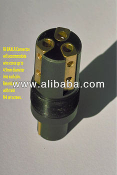 BAXLR R6 xlr connector, View xlr connector, Bocchino Audio Product Details  from Bocchino Technologies on Alibaba com