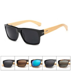 100% Wholesale Handmade Natural Wooden Bamboo Sunglasses