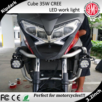 Cheap 12V LED CREE Driving Lights Super Bright LED Motorcycle Front Light