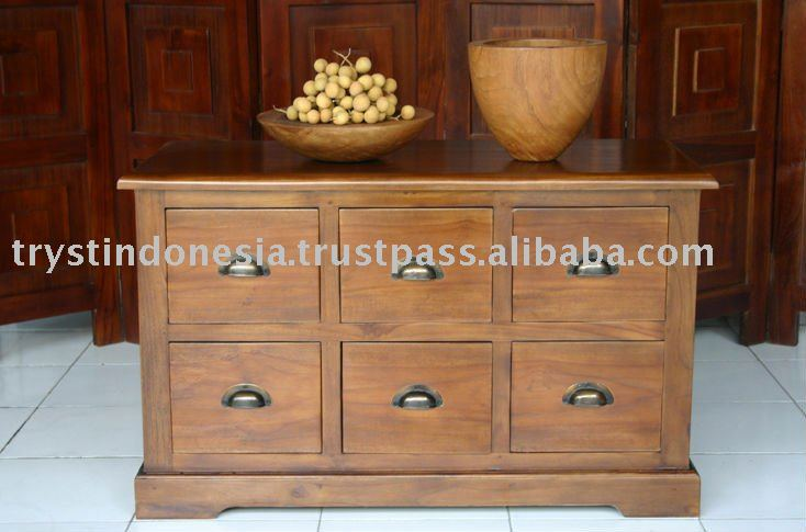 Wooden Cabinet Drawer Small