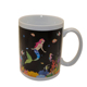 11oz Christmas mug Custom color changing magic porcelain sublimation ceramic coffee cup mugs with logo