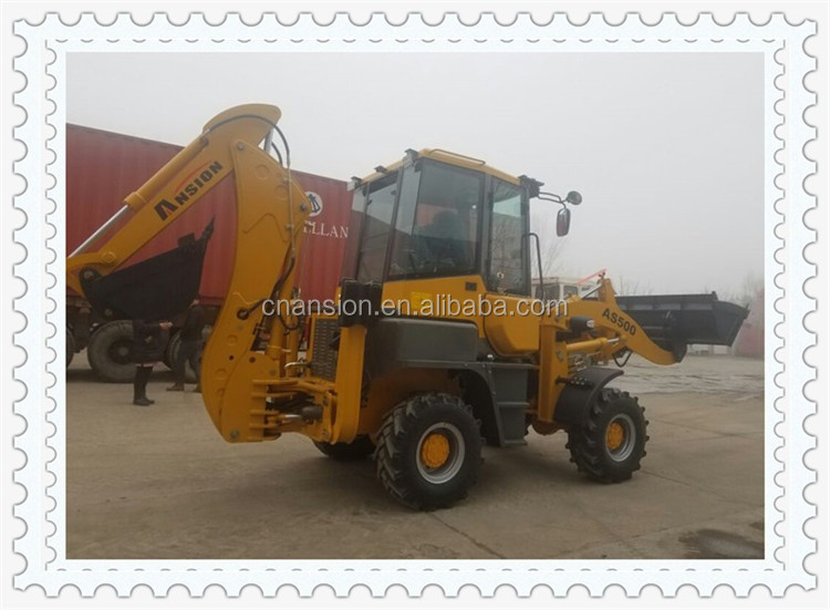 As500 Mini Articulated Articulated Backhoe Loader For Sale