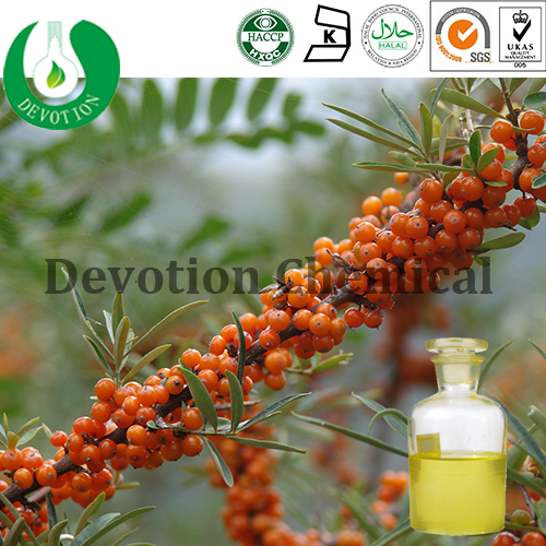 Pure Natural Plant Extract CO2 Supercritical Extract Seabuckthorn Fruit Oil