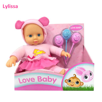 Top Rate Item 2019 New Design 11 Inch Soft Body Doll with Accessories