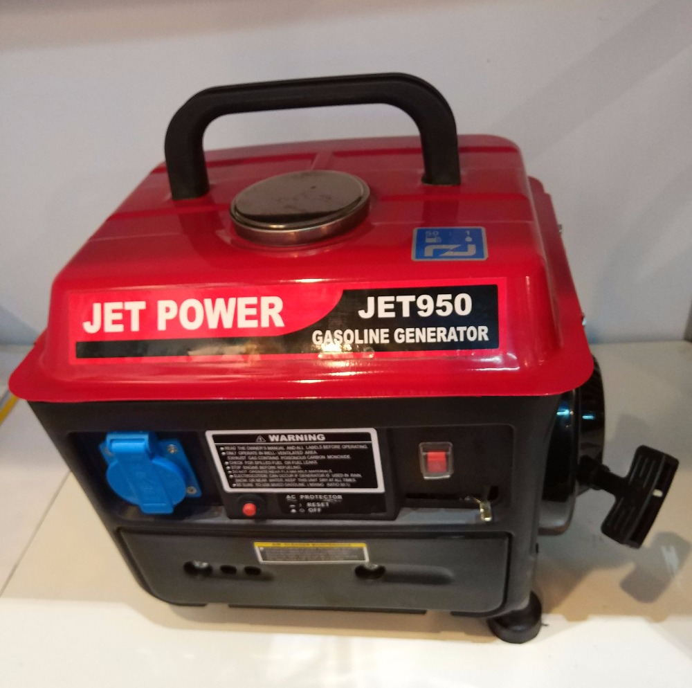 Small Home Use portable Single Phase AC 650W Gasoline Generator J950