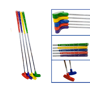 Factory Directly Sales Golf Club Kids Junior Adults Double Way Rubber Golf Putter Lefty and Right Hand Putter Club