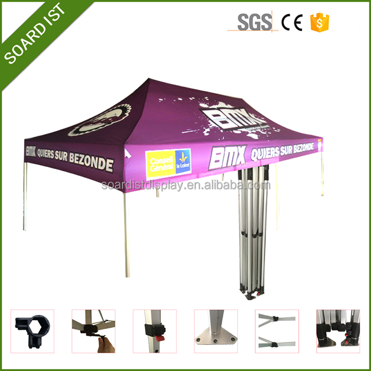 Customer logo football tailgate party tent with high duty canopy for sale