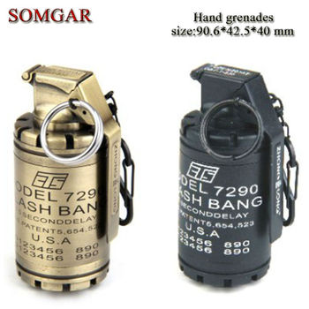 Creative Military American Soldiers Ct5-m7290 Flash Hand Grenade ...