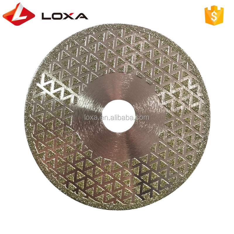Star Dotted Electroplated Diamond Saw Blade