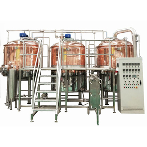 600L / 5BBL Beer Brewhouse / Micro beer brewery / Red Copper Commercial Beer brewing