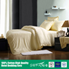 Pure bamboo bed sheets/bamboo fiber fabric wholesale bed linen , bedding set