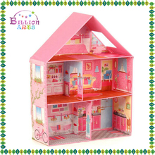 beartiful princess mdf colorful diy wooden doll house bookcase dolls house emporium