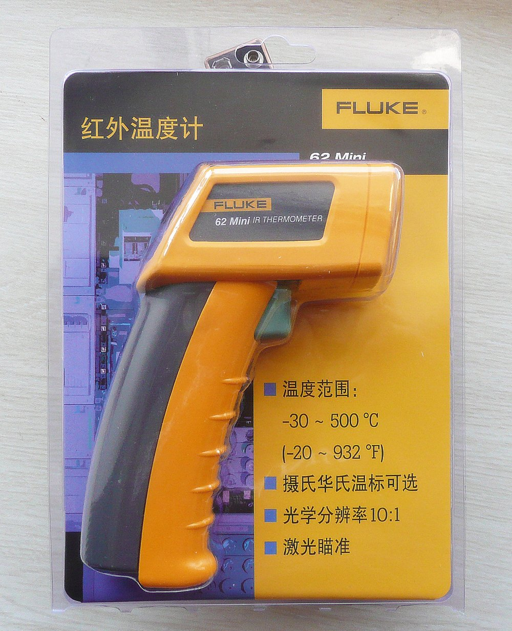 500 C Infrared Thermometers Fluke 62 Mini F