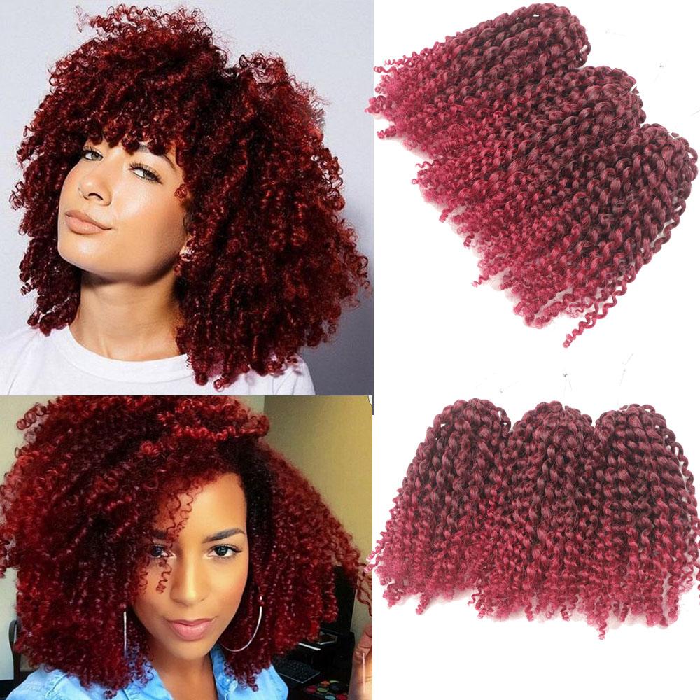 Marley Twist Hair Bob Style Synthetic