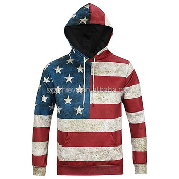 Custom Polyester Men's Hoodie Hip-Hop Sweatshirts