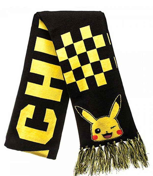 BioWorld Pokemon go Pikachu Knit Scarf