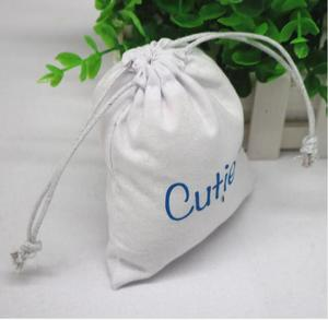 Direct Manufacturer custom cheap cotton drawstring jewelry gift storage and packaging organic cotton drawstring bag
