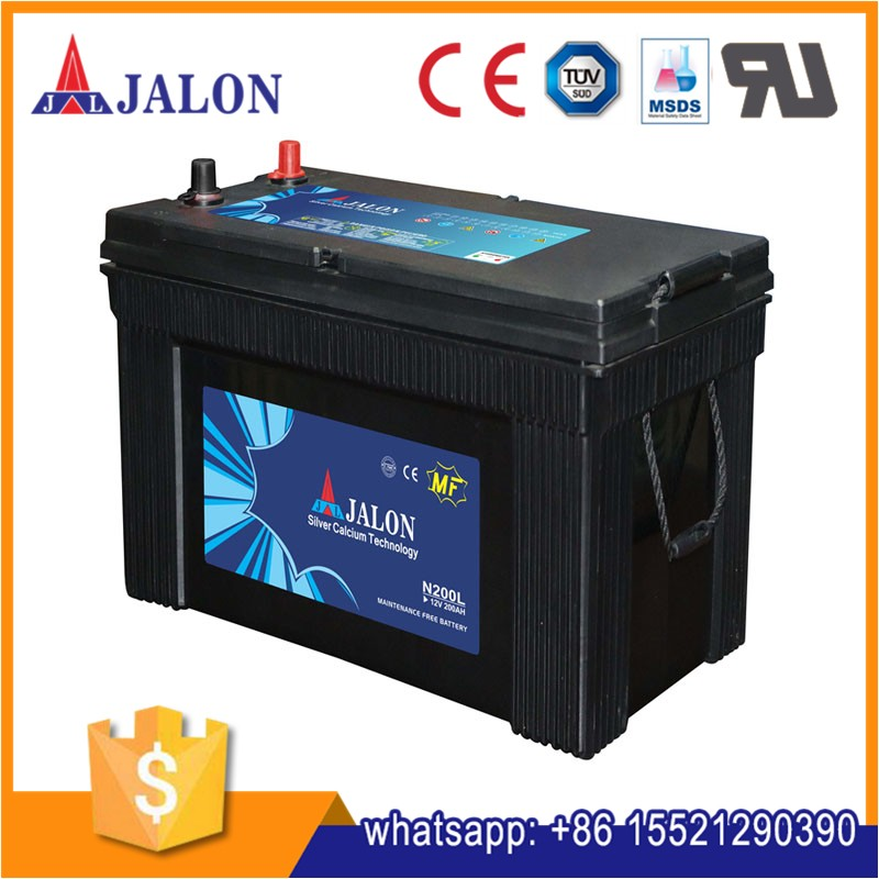 Maitenance Free 12v 200ah N200 Truck Battery