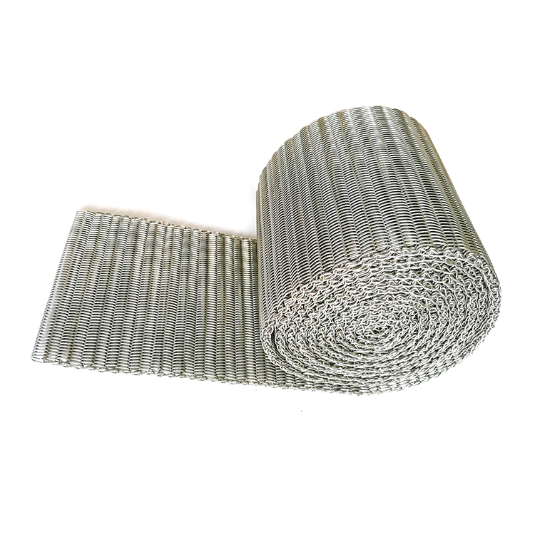 Light Weight Belting frozen mechanical expanded stainless steel wire mesh price
