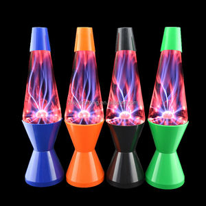 Novelty lava lamp color changing table light