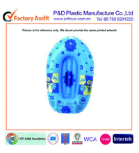 blue printed children boat,pvc boat, Inflatable pvc boat