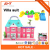 Top selling educational plastic mini toy house for kids