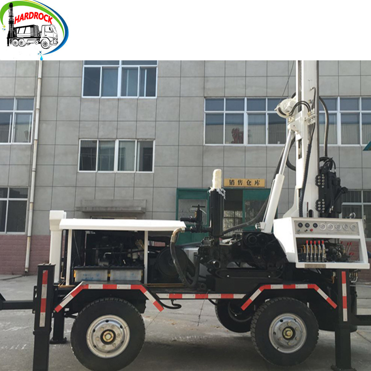 325m Depth tractor trailer mounted water well drilling rig