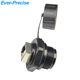 CAT.6 RJ45 SHIELDED INDUSTRIAL PANEL MOUNT BULKHEAD COUPLER WITH DUST CAP WATERPROOF CONNECTOR