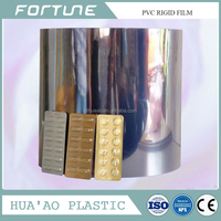 pvc blister packing rigid sheet for industrial and medical use with reach