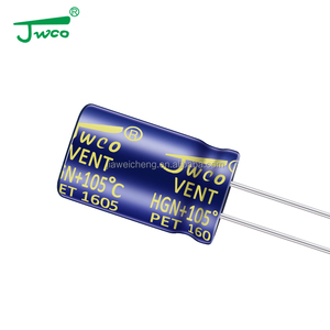 non polar electrolytic capacitors 22uf 35v 5*11mm