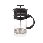 350ml/800ml/1000ml hot sale espresso coffee press for brewing coffee and tea french coffee maker glass coffee french press